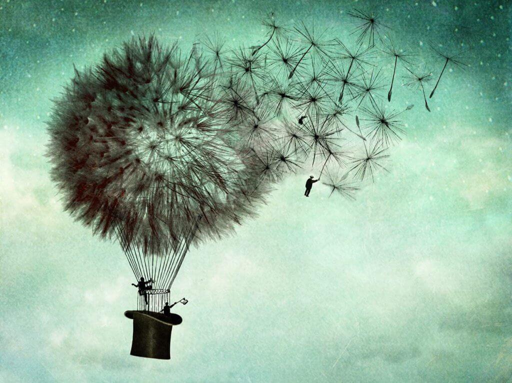Heißluftballon_Pusteblume