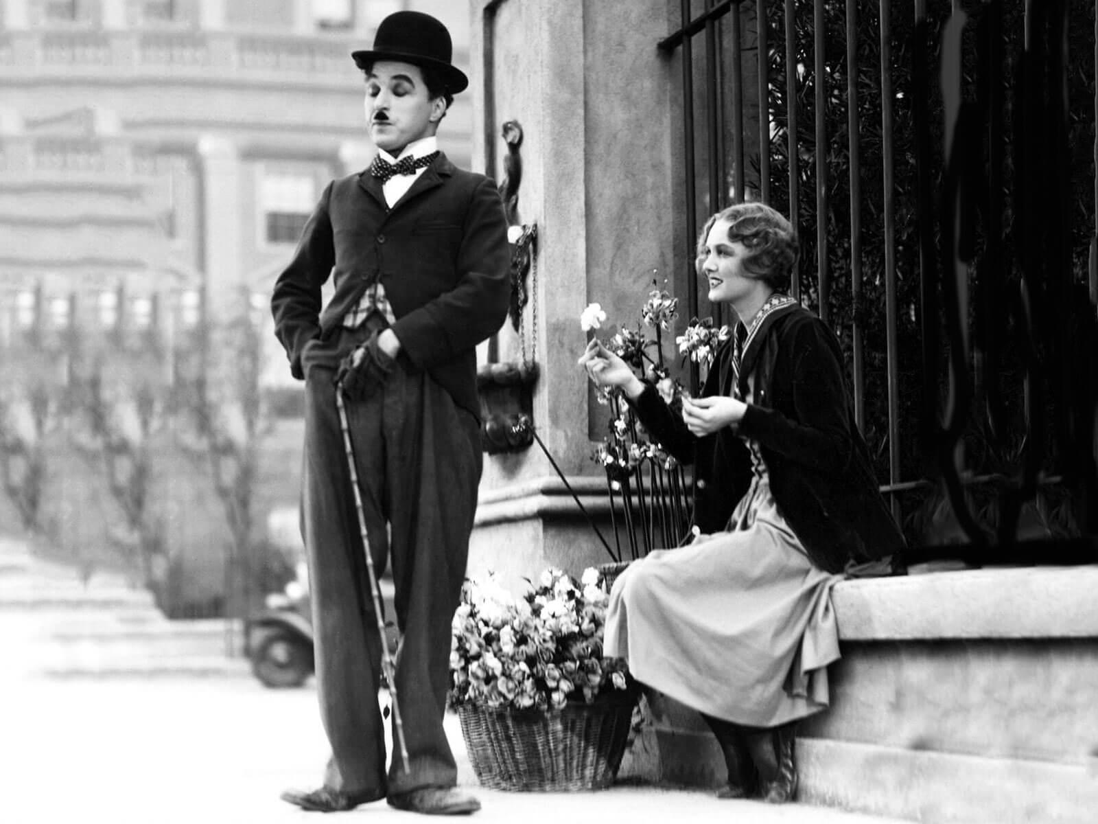 Wie Charles Chaplin Glück definierte