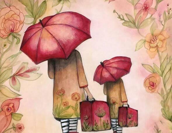 Um leben zu können, müssen wir uns manchmal von bestimmten Menschen distanzieren