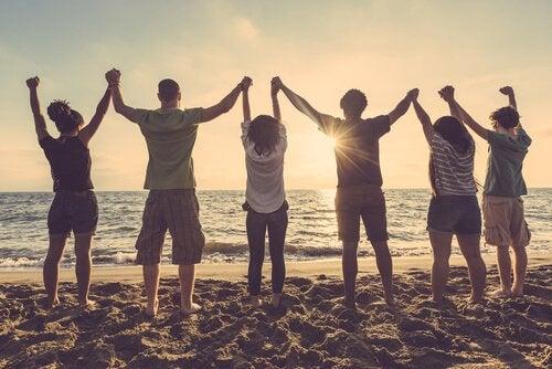 Positive Menschen: Der Treibstoff für gesunde Beziehungen