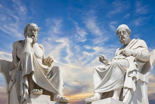Philosophenstatuen