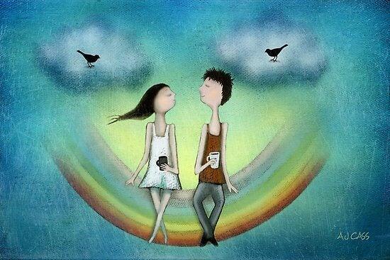 Wir verlieben uns in Gemeinsamkeiten, aber es sind die Unterschiede, die die Liebe erhalten