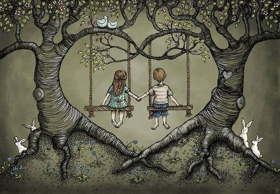 Die Wurzel macht den Baum solide