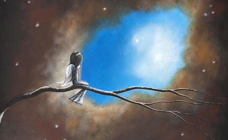 Ich wünschte, es gäbe eine Treppe hoch in den Himmel, um dich jeden Tag sehen zu können