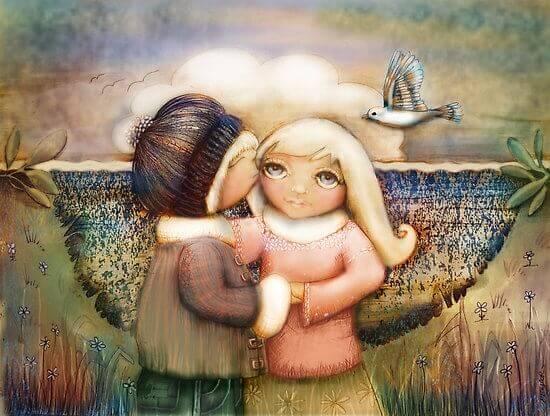 Ein wahrer Freund ist an deiner Seite, wenn alle anderen dich verlassen