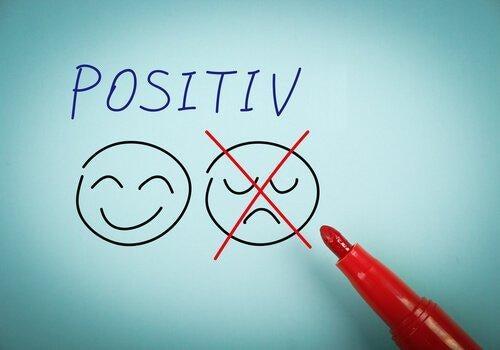 Smiley-positiv-negativ