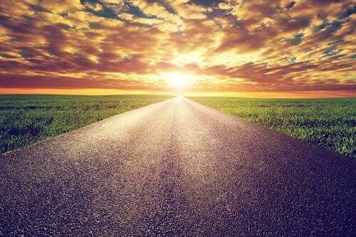 Weg und Horizont