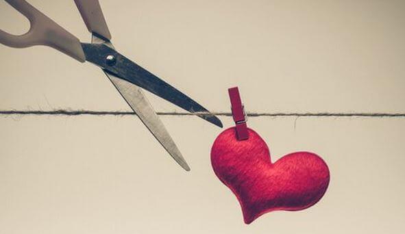 Herz-losschneiden