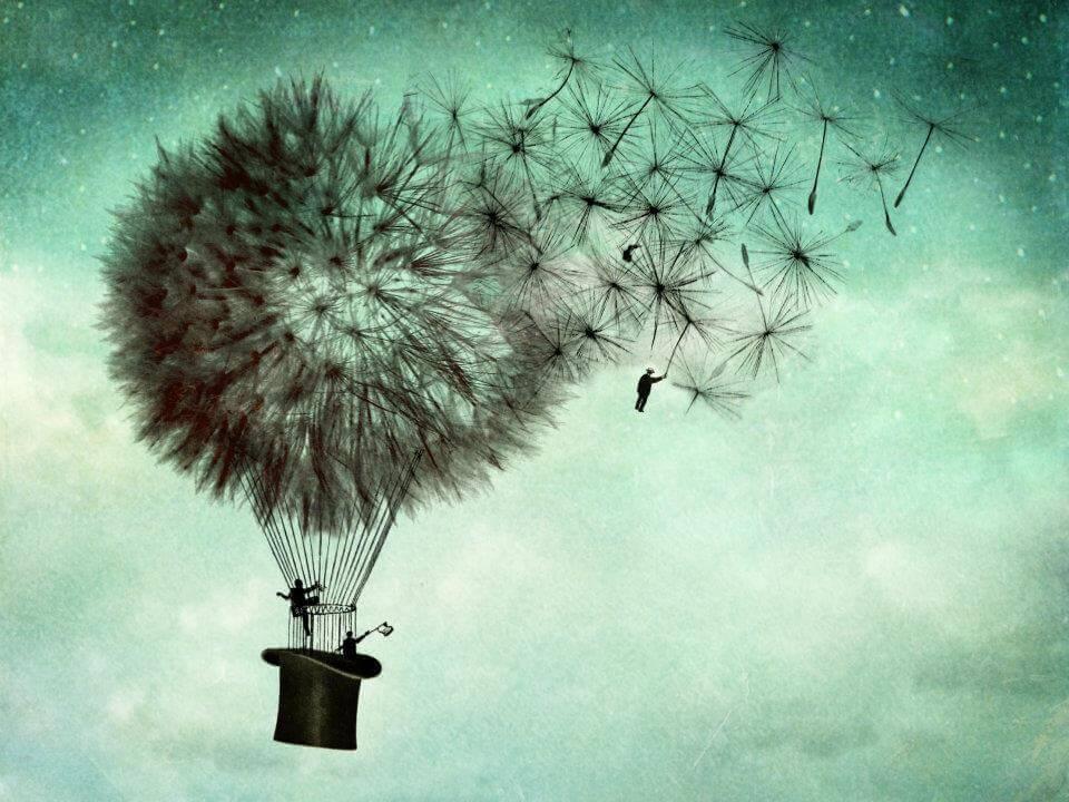 Luftballon-wie-Pusteblume