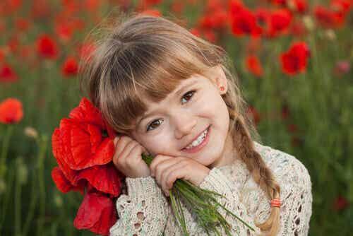 Lerne, wieder wie ein Kind zu leben, zu lachen und zu lieben