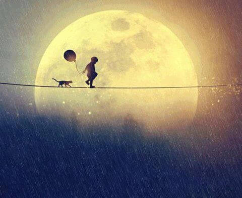 Mann im Mond