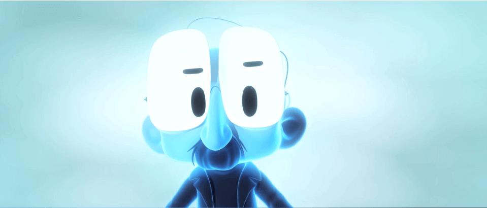 Mann-mit-grossen-Augen