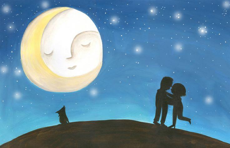 Liebespaar-im-Mondlicht
