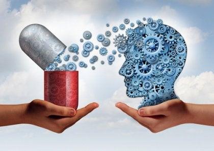 Pille mit Gedanken