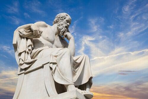 Statue von Sokrates