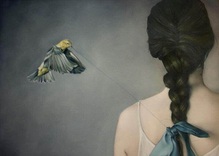 Vogel-mit-Schnur