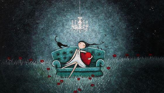 Frau-mit-Katze-auf-dem-Sofa