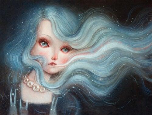 Frau-mit-blauen-Haaren
