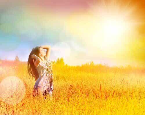 Du findest deine Freiheit in deinem Verstand und in deinen Gefühlen