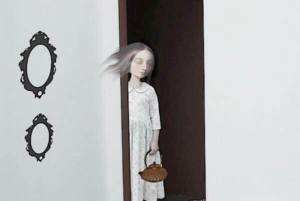 Hoechst depressive Frau