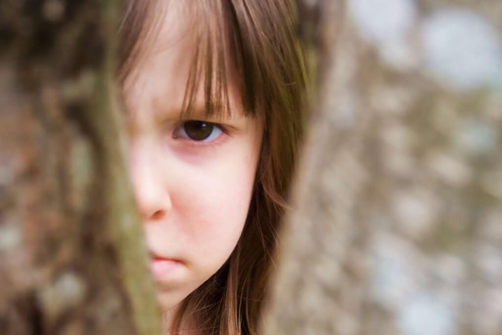 Kind voller Schuldgefuehle