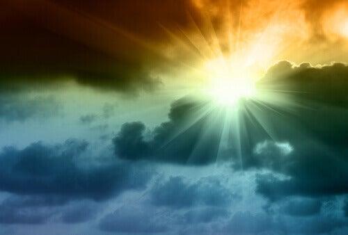 Nach dem Sturm scheint immer die Sonne