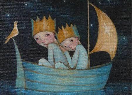 Kinder-im-Boot