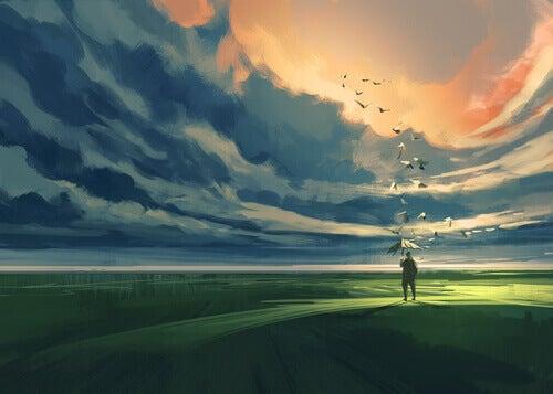 Landschaft-und-Wolken