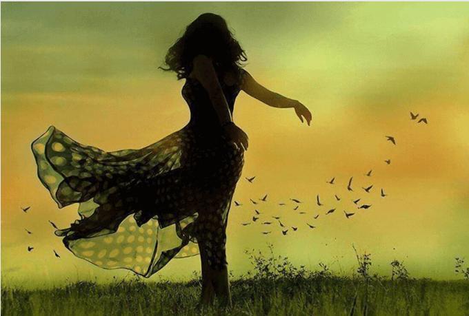 Vogelfrau