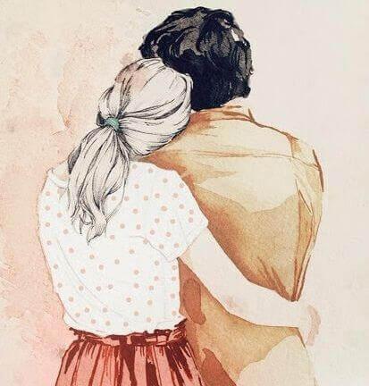 Lieber mit mir leben - es soll deine Wahl sein, dass wir zusammen sind.