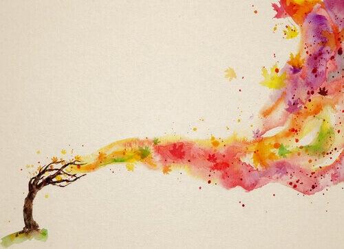 Farben-fliegen-von-Baum