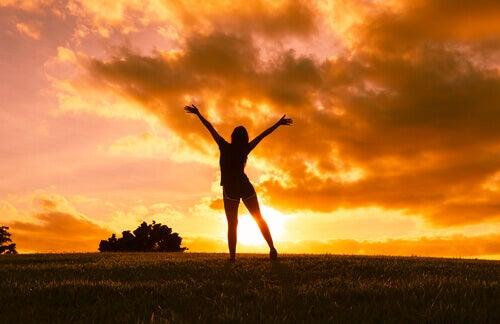 Mit Optimismus der Sonne entgegen