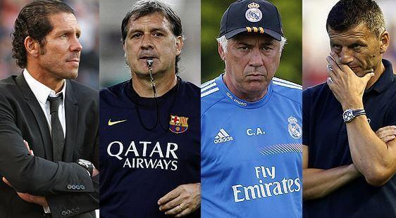 Fußballtrainer in Führung