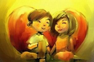 Einen geliebten Menschen glücklich sehen
