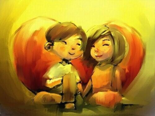 Wenn man jemanden liebt, will man ihn einfach glücklich sehen