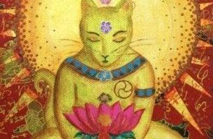 Katzenbuddha