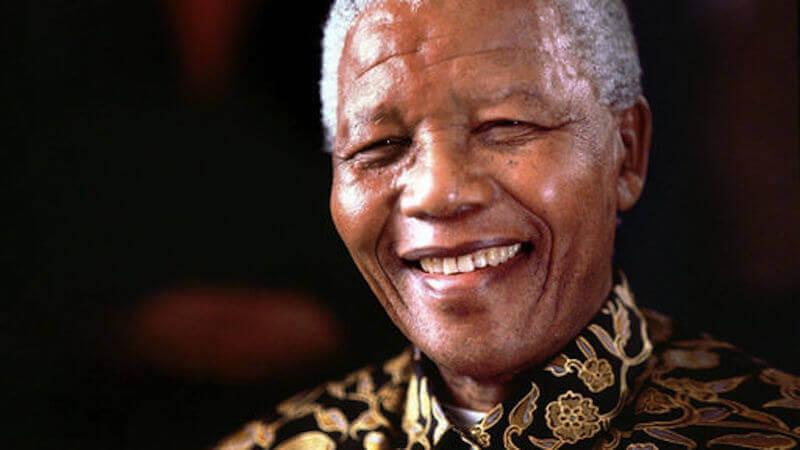 Nelson Mandela in Führung
