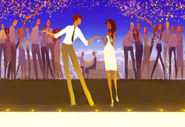 Zu zweit oder allein tanzen