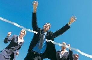 Beruflich erfolgreiche Menschen