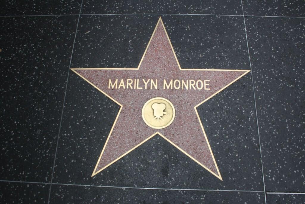 Walk of Fame - Stern von Marilyn Monroe