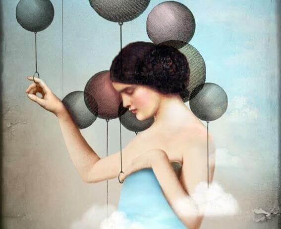 Ballonfrau