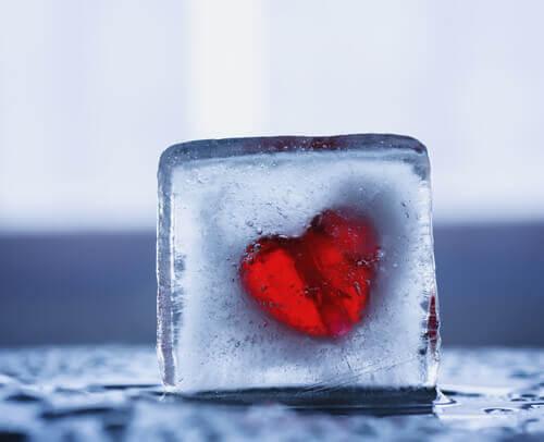 Eingefrorenes Herz