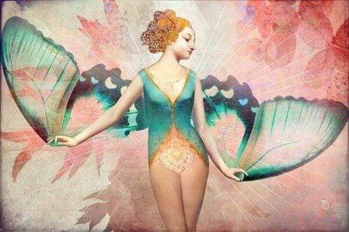 Ich werde dir Flügel geben