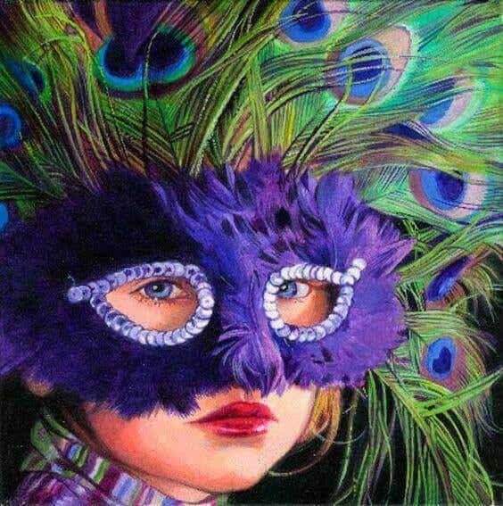 Jede Maske hat ein Loch, durch die die Wahrheit zum Vorschein kommt