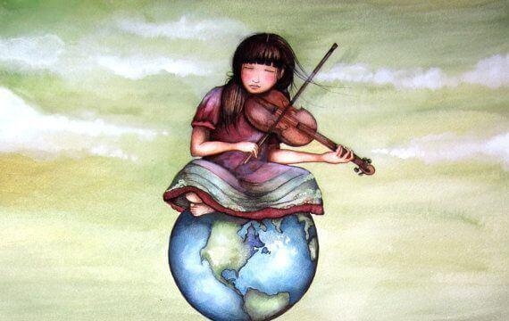 Geigenmaedchen