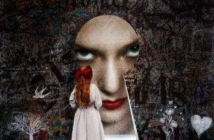 Toxische Menschen identifizieren - böser Blick durch's Schlüsselloch