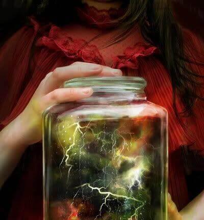 Gewitter im Glas