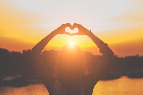 Herz-Haende-Sonnenuntergangh