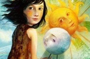 Das Glück verdienen? - Kind zwischen Sonne und Mond