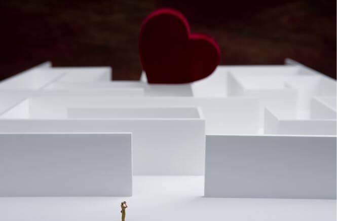 Labyrinth-mit-Herz